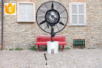 30 inch decorative electric industrial wall mounted misting fan