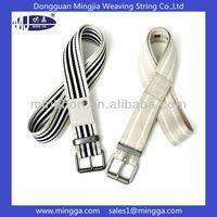 D ring unisex stylish custom cotton belts