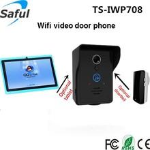 Saful Smart phone iOS & Android Remote control unlock WiFi/IP video door phone