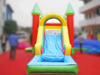 Commercial inflatable bouncer with water slide, inflatable combo