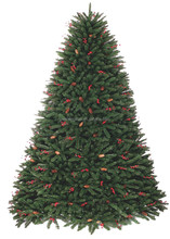 High Quality Rich Leaves 7FT Artificial Pine Cone Christmas Tree Decoration