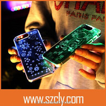 New Arrival Wholesale Call Come Flashing Cellphone Case for iphone 5/5S