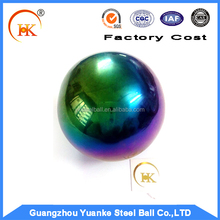 Manufacturer Promotional Color Plated Stainless Steel Ball
