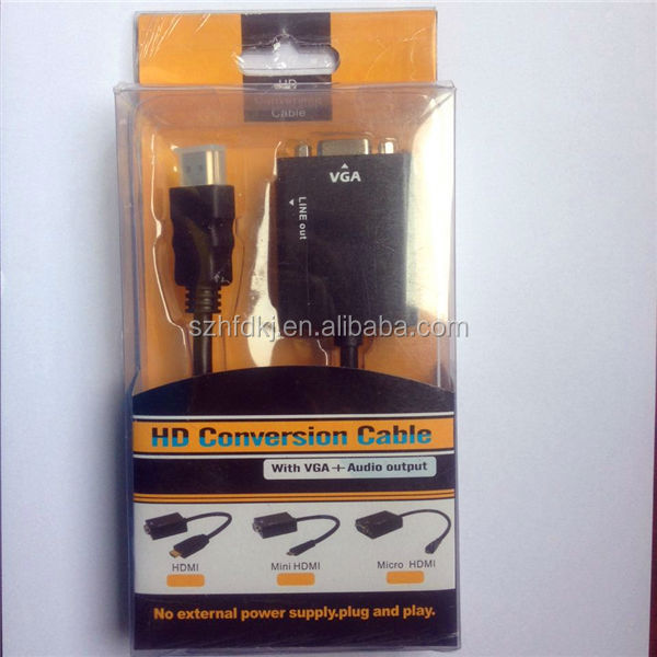 china wholesale vga rca for VGA RCA S-Video cable ,rca to vga converter made in china
