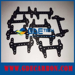 carbon fiber frame (sheet plate, board, panel, flat) for RC model