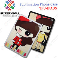 Sublimation Rubber Phone Cover for iPad 5
