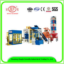 700~900 pcs/hr large production capacity Automatic Hollow Paver Colorful Concrete Block Making production line