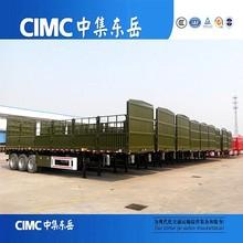 CIMC Heavy Load Fence Tractor Transportation Trailer JOST Landing Leg