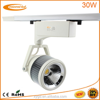 Commercial bridgelux dimmable cob 30w clothing led tracking light