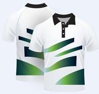 Custom 2014 Sport cool dry mens polo collar striped t shirt