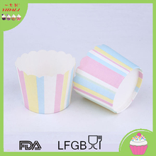 Cute Roya Blue Paper Baking Cups Cupcakes Liners for Wedding Party Event Cupcake / Cake Decoration