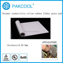 4.0MM heat conductivity silicone rubber filler with solar inverter usage