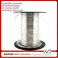 XD XS008 Factory Wholesale 925 Sterling Silver Wire for Jewelry