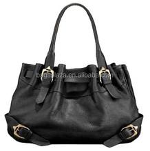 GuangZhou handbag supplier customize 2015 lady fashion design tote bags leather handbag for women