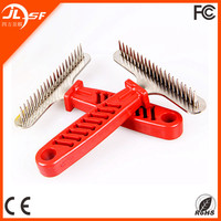 Pet Product Lice Heal Tools Metal Dog Long Hair Grooming Comb
