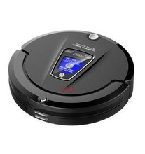 black color 500w remote control 6 In 1 Multifunctional Robot Vacuum Cleaner with virtual wall