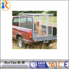 wholesale cheap chain link large dog kennels with wheels (factory)