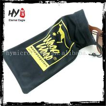 Multifunctional microa fiber sunglasses bags/different size sunglasses bags/microfiber drawstring bags