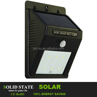 hot wall mounted outdoor solar lights led outdoor light ,SMD solar wall light , solar lamp