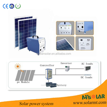 10KW residential solar power kit system for family using