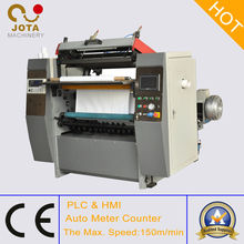 Máquina Cortadora y Rebobinadora de Papel Térmico de Automático