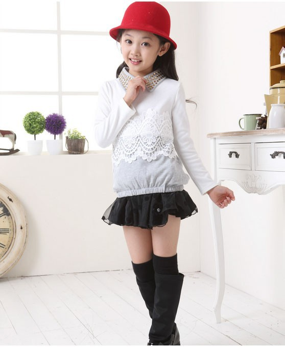 Блузка для девочек WXX1170 WXX1169