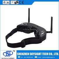 AIO 5.8G video glasses FPV video goggles compatible Walkera Fatshark BOSCAM Foxtech RX TX fpv hexacopter