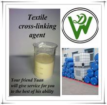 química ambiental de la industria textil agente de reticulación