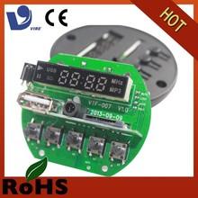 printed circuit board recordable sound module radio usb fm