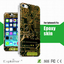 Per iphone5/5s mobili colla epossidica pelli