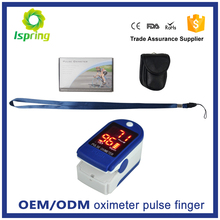 High accurate digital finger pulse oximeter