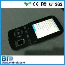 Móvil de terminales biométricos para el sistema pos hf-ph03