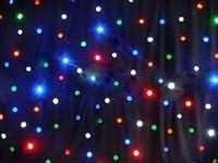 Led star curtain RGBW/ led effect lighting/ background light