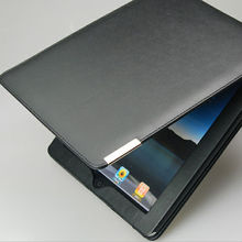 high end business style PU leather skin fashion tablet case for apple ipad 4 case