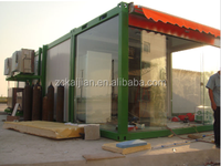 Prefabricated Container Office Houses with Glass