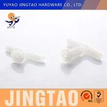 whitepa or polypropylene toggle anchor for wall