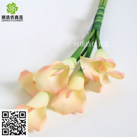 Artificial Calla Lily real touch flowers names of decorative flowers