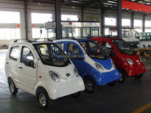 120km Range 4 wheel 3 Seater Chinese Mini Electric Car/Vehicle