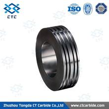 Top quality pr6.0 125x82x15mm tungsten carbide rolls for forming smooth steel wires made in China