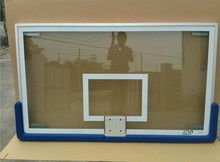 12 mm high quality tempered glass basketball backboards with aluminium frame