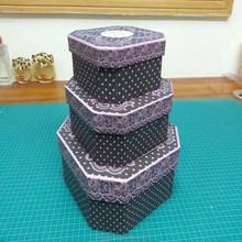 Hexagon Paper Rigid Box,Rectangle Paper Box,Gift Paper Box Printing Manufacturer