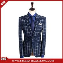 Unternehmen navy blue hochzeit anzüge für männer anzug jacke Hose Weste 3 stück blazer