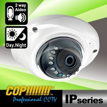 2 MP IR Audio Security 1920x1080 WDR P2P Digital Full HD Dome Camera