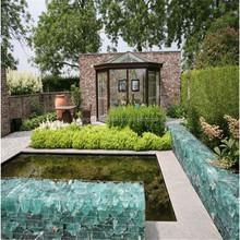 Garden stone wall welded wire mesh gabion box/ basket (china factory)