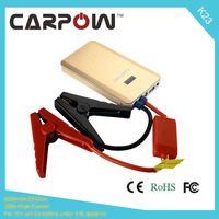 Carpow 8000mAh Power Bank For Mobile Devices 12V Compact Car Jump Starter