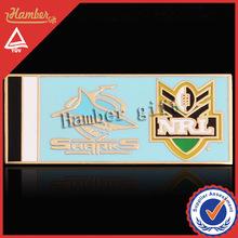 Sport League Badge Metal Football Badge