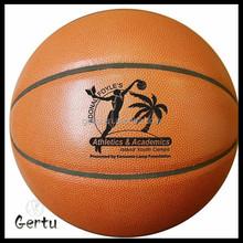 Promotional design basketball balls factory
