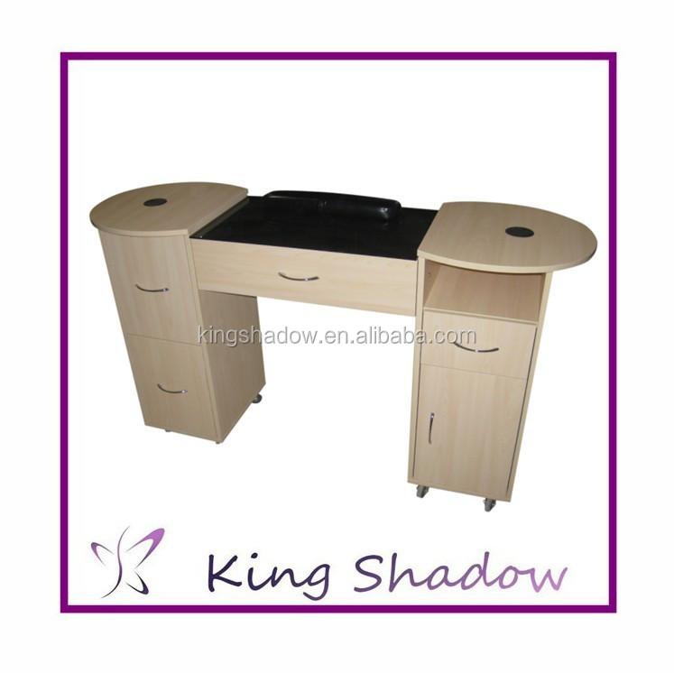 mesa de manicura de uas de alta calidad vidrio escritorios superior mesas de manicura saln de