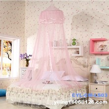 Princess bedroom set china furniture factory luxury canopy bed circular mosquito net