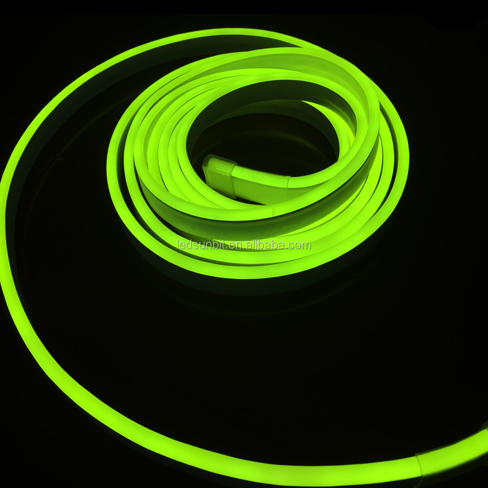 ce and rohs 120 v led neon rope light with colorful jacket made in china factory buy led neon. Black Bedroom Furniture Sets. Home Design Ideas
